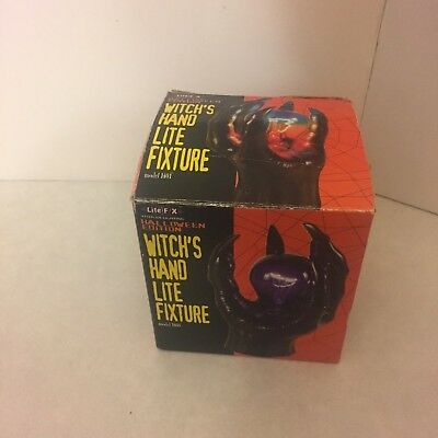 Halloween - Electric - Witch's Hand Lite Fixture - Lamp Show Halloween - No Bulb