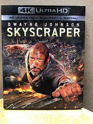 Skyscraper (4K Ultra HD + Blu Ray, 2018) Dwayne Johnson