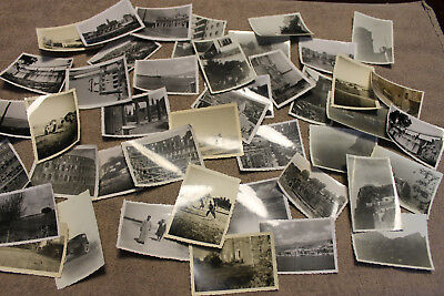 Original WW2 Photograph Lot Taken by German Soldier in Italy, 43 Photos in Total
