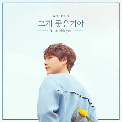KYUHYUN [THE DAY WE MEET AGAIN] 3rd Single Album CD+POSTER+PhotoBook+Card SEALED