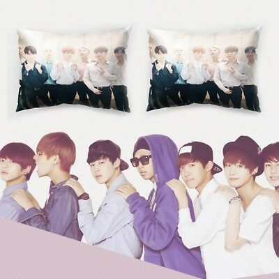 KPOP BTS LOVE YOURSELF JUNGKOOK Rectangle Pillow Case Sofa Bed Cushion Cover