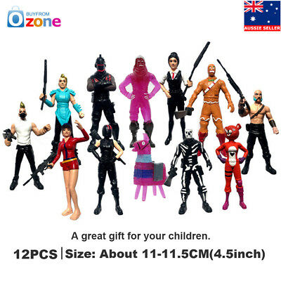 12Pcs Fortnite Character Collection Toy Game Action Figure Model Kids Gift