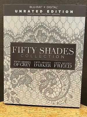 Fifty Shades: 3-Movie Collection (Blu-ray, 2018)