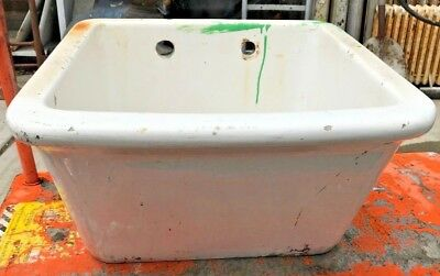 Antique Laundry Sink/ Deep Basin Sink/ Utility Sink/ Vintage