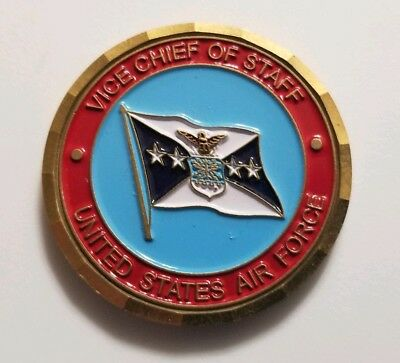 Vice Chief of Staff US Air Force USAF General Foglesong Challenge Coin