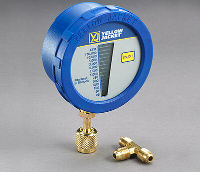 Ritchie Yellow Jacket 69080 Digital LCD Economy Vacuum Gauge