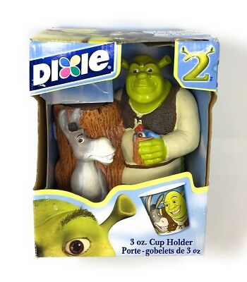 Shrek 2 Dixie Cup Holder Collectible State w/Donkey NEW