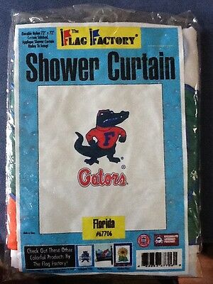Florida Gators Shower Curtain Official NCAA 72 X Nylon Custom