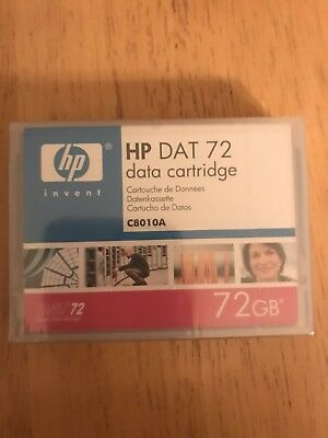 HP DAT 72 data cartridge