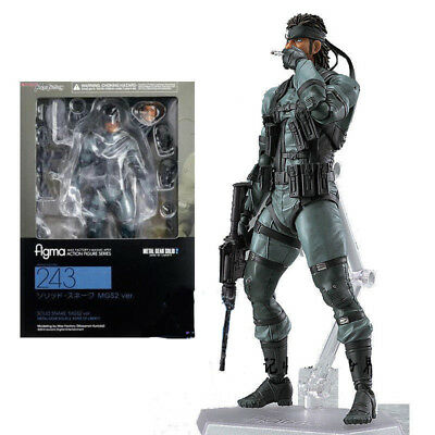 New Max Factory Figma No.243 Snake Metal Gear Solid 2 Sons of liberty Figure
