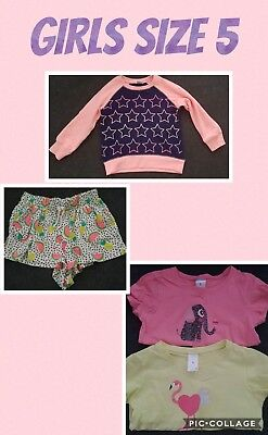 girls clothes size 5/6 Bulk Lot 5 items