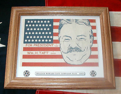 46 Star Flag..William Howard Taft Campaign Flag of 1908