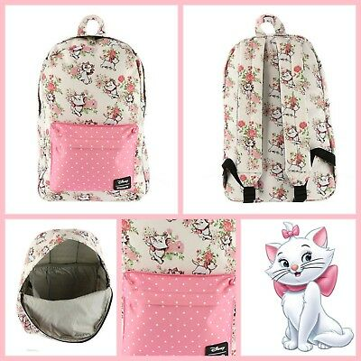 Loungefly DISNEY Aristocats Marie BACKPACK New With Tags Floral Pink Animated