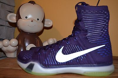928720652d0c PRE-OWNED IN EXCELLENT condition! Mens 9.5 NIKE KOBE X ELITE Purple ...