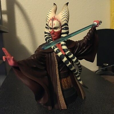 Gentle Giant SHAAK TI Star Wars Mini Bust 1451/4000 Attack of the Clones