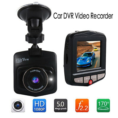 Dash Cam 2.4'' 1080P Full HD Car DVR Video Recorder Night Vision G Sensor CA