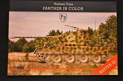 PANTHER IN COLOR WAFFEN SS by Waldemar Trojca