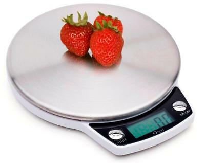 Ozeri Precision Pro Stainless-Steel Digital Kitchen Scale with Oversized Weighin