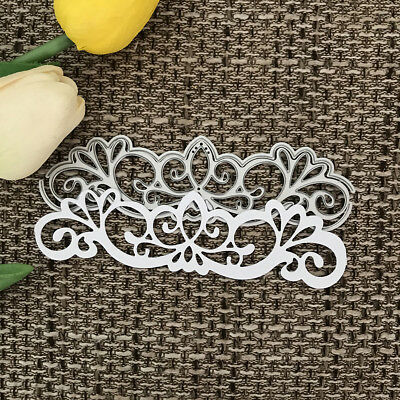 lace Design Metal Cutting Die For DIY Scrapbooking Album Paper Card _H