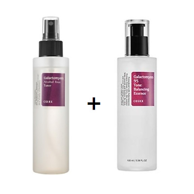 [COSRX] Galactomyces 95 Tone Balancing Essence + Galactomyces Alcohol Free Toner