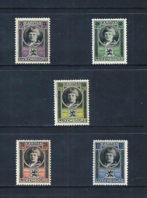 LUXEMBOURG _ 1926 'PRINCE JEAN' SET of 5 _ mh ____(560)