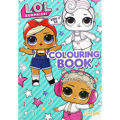 LOL Surprise Colouring Book (Paperback), Children's Books, Brand New