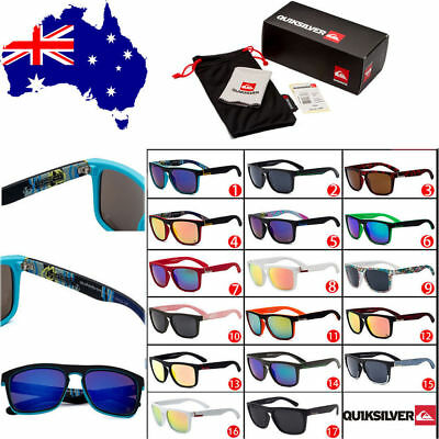 With Box Silver 17 Colors Stylish Men Women Outdoor Casual Sunglasses UV400 AU