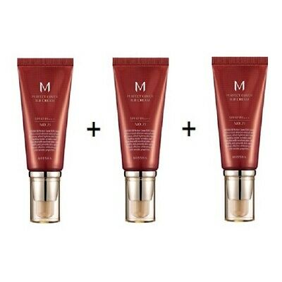 [MISSHA] M Perfect Cover BB Cream SPF 42 PA+++ 50ml 1+1+1=3pcs/ Korean Cosmetics