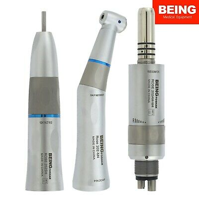 BEING Dental Intra Head Low Speed Contra Angle Air Motor Handpiece 4 Hole Kavo