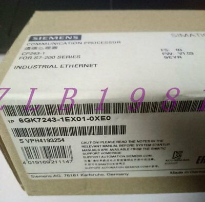 One New Siemens 6Gk7 243-1Ex01-0Xe0