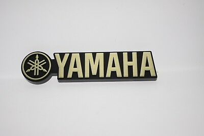 "YAMAHA Plastic Logo Badge 124mm (4-7/8"") x 30mm x (1-3/16"")"