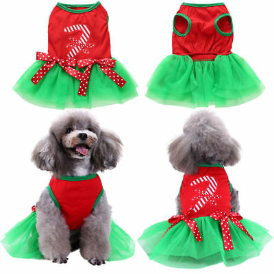 Hot Christmas Costume Pet Clothes Cute Clothes For Small Dog Cloth Costume Dress