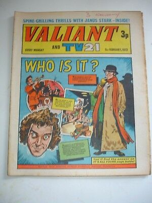 VALIANT And TV 21 comic 5th February 1972