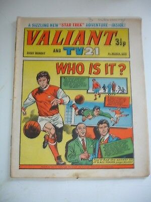 VALIANT And TV 21 comic 4th March 1972