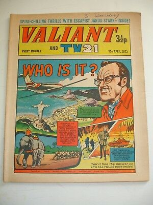 VALIANT And TV 21 comic 15th April 1972
