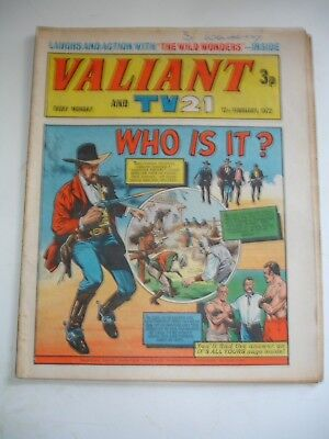 VALIANT And TV 21 comic 12th February 1972