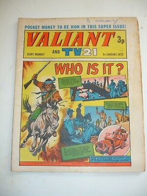 VALIANT And TV 21 comic 8th January 1972