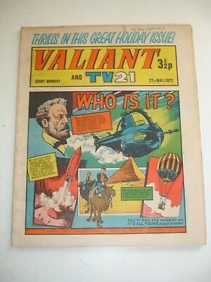 VALIANT And TV 21 comic 27th May 1972