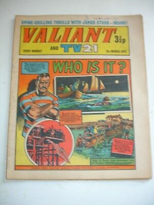 VALIANT And TV 21 comic 18th March 1972