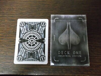 "SUPERB PACK ""Bicycle Type - Deck One (Industrial Edition)"" Pack of Playing Cards"
