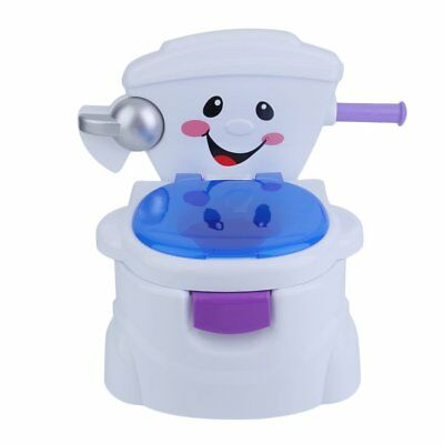 Baby Kids Children Toddler Potty Toilet Trainer Training Musical 2 in 1 Seat