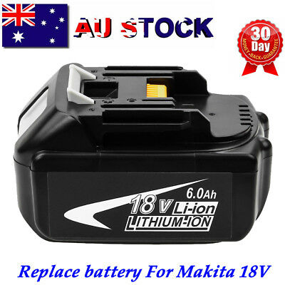 18V 6.0AH Li-Ion Battery For Makita BL1840 BL1830 BL1815 BL1860 LXT Power tools
