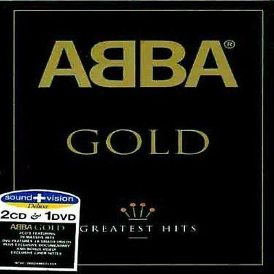 ABBA Gold: Greatest Hits (2 CD & 1 DVD All Region) Sound + Vision Documentary