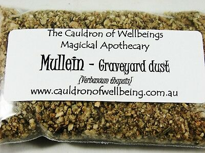 Mullein - Herbal Incense Magickal Potion Ritual Wicca Pagan