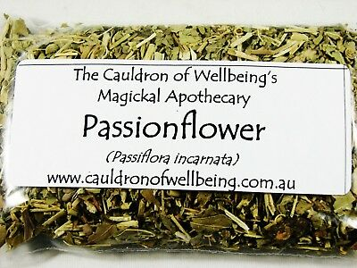 Passionflower - Herbal Incense Magickal Potion Ritual Wicca Pagan