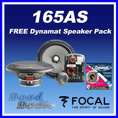 Brand New FOCAL 165AS + Dynamat Xtreme Speaker Pack
