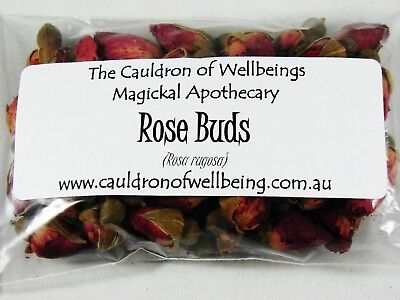 Rose buds - Herbal Incense Magickal Potion Ritual Wicca Pagan