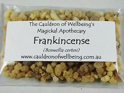 Frankincense - Herbal Incense Magickal Potion Ritual Wicca Pagan