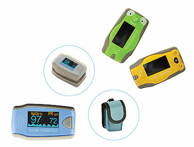 MD300-C5 Paediatric Finger Pulse Oximeters inc free case and silicone cover