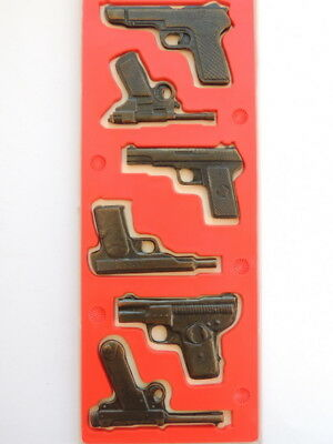 Vintage Russian USSR Collection Metal of Military Models Pistols in Reduced Form
